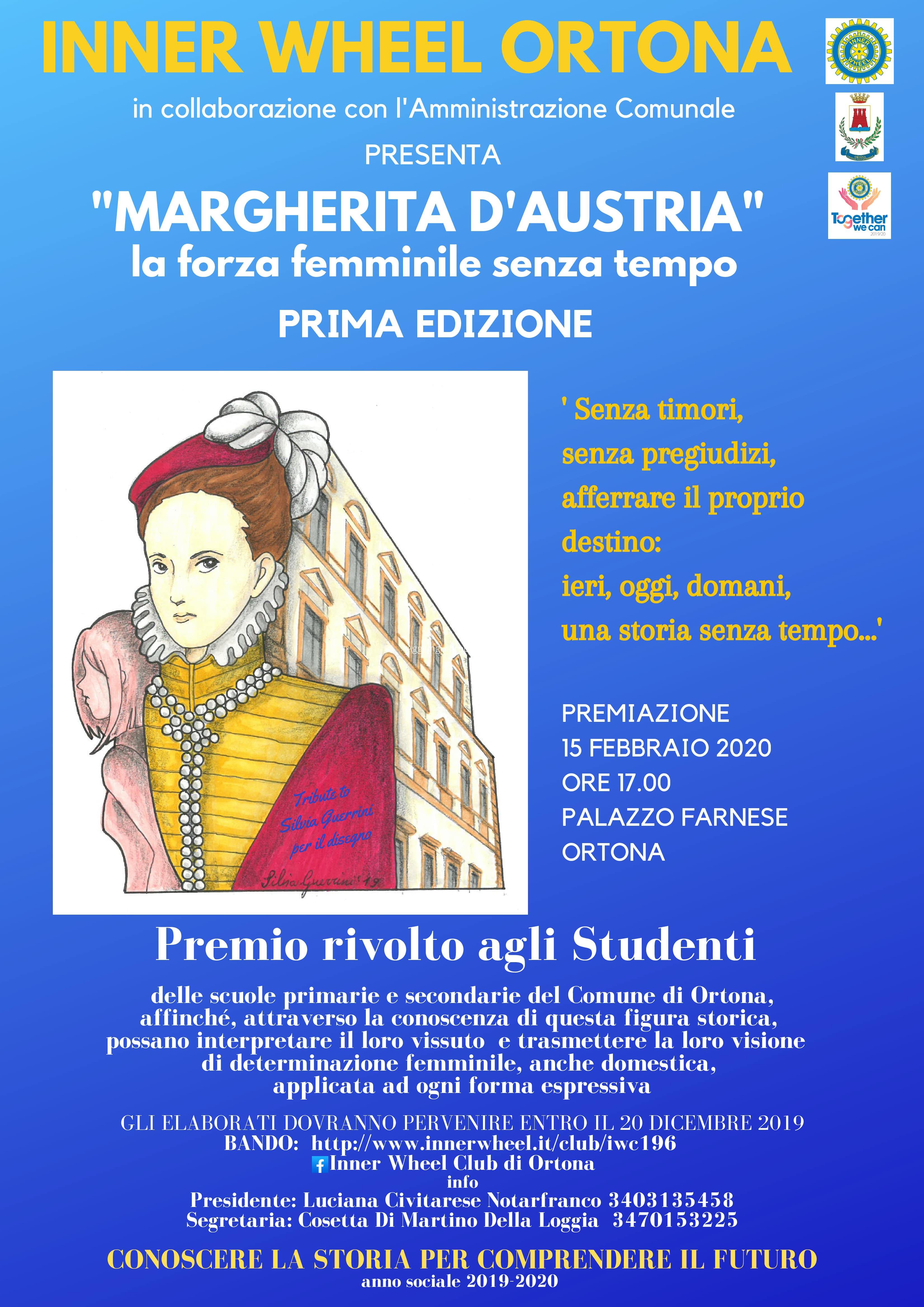 Prima edizione del Premio Margherita d'Austria