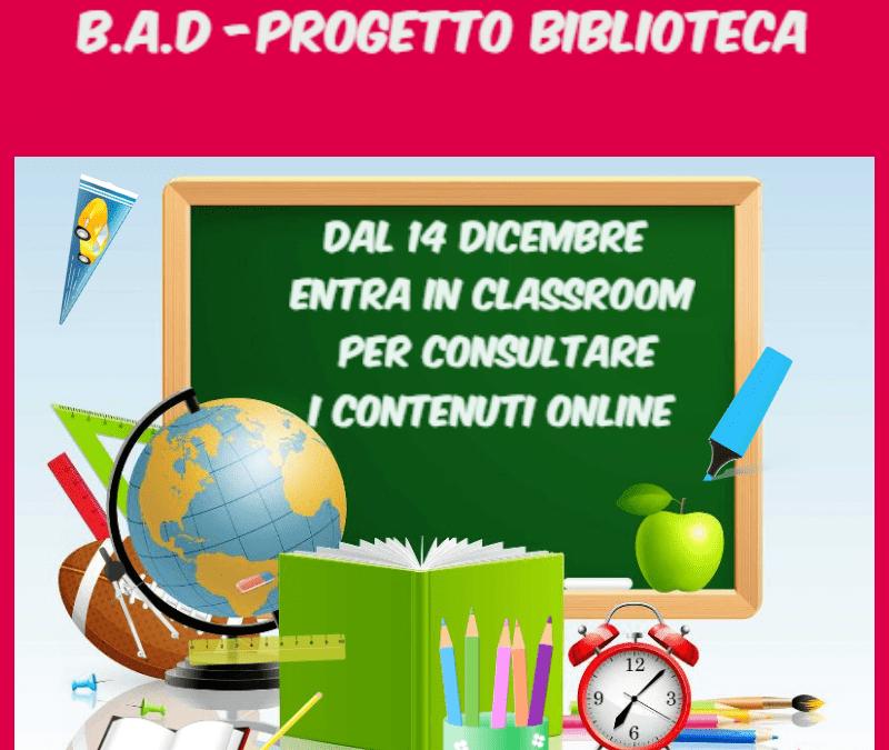 BAD- Progetto biblioteca online